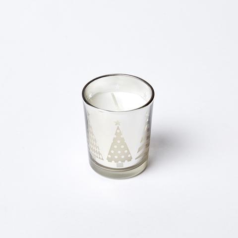 Новогодняя свечка-стаканчик
