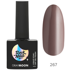 Гель-лак RockNail Gray Moon 267 Nightfall, 10мл.