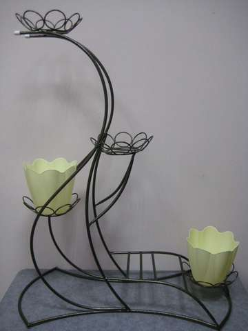 Подставка под цветы Изящная на четыре горшка