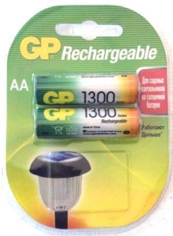 Аккумуляторные GP NIMH 1300 R6-2 BL