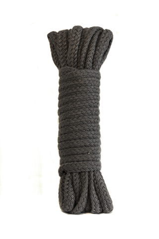БДСМ Веревка для шибари - LOLA Bondage Collection Grey (9 метров)
