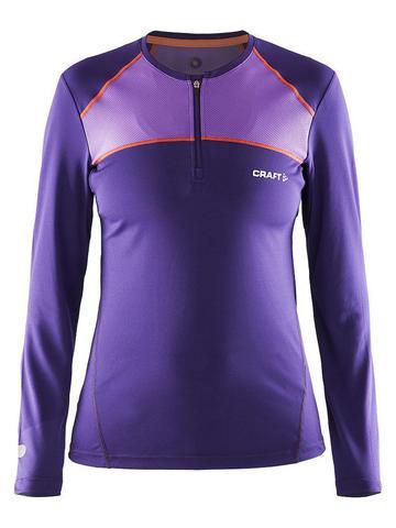 Беговая рубашка женская Craft Devotion Run (purple)