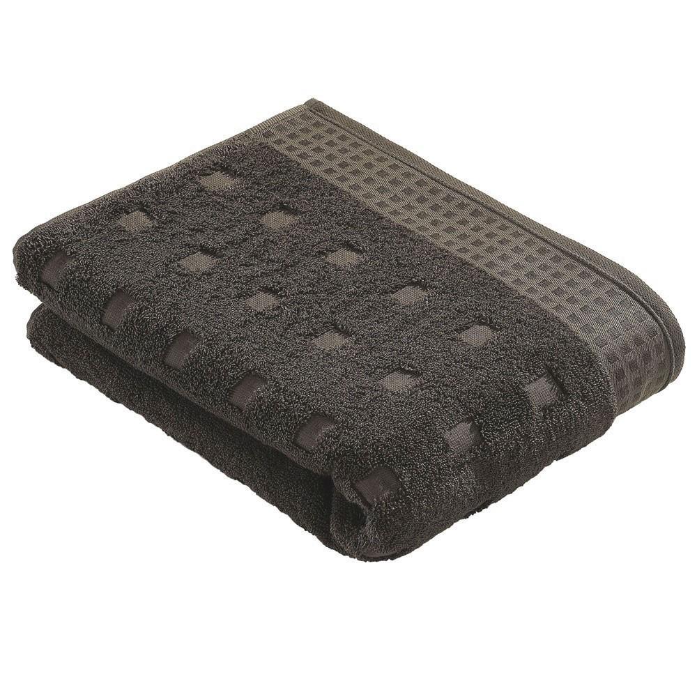 Полотенце 67x140 Vossen Country Style slate grey