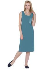 X239-3 Сарафан женский, голубой