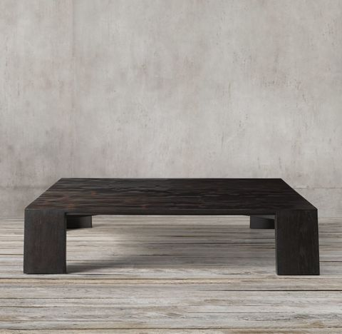Wyeth Split Bamboo Square Coffee Table