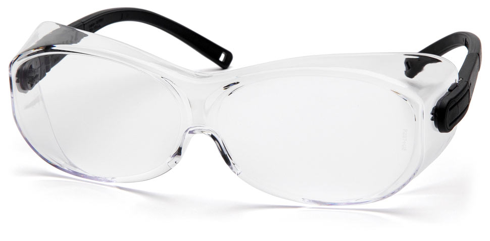 Очки баллистические стрелковые Pyramex OTS S7510SJ Diopter на очки прозрачные 96%