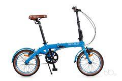 складной велосипед SHULZ Hopper синий