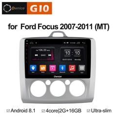 Штатная магнитола на Android 8.1 для Ford Focus 2 Ownice G10 S9201E-M