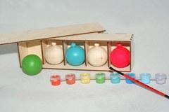 057-1266  Набор новогодних игрушек