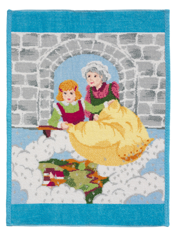 Полотенце детское 37x50 Feiler Marchen Frau Holle 223 аква