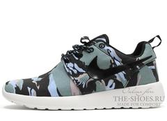 Кроссовки Женские Nike Roshe Run Urban Camo