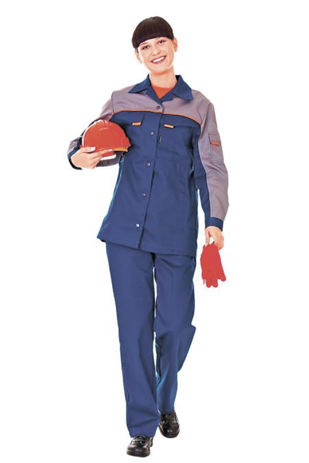 Лекала женского рабочего костюма куртка