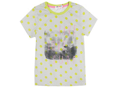 6200-6 футболка детская, серая