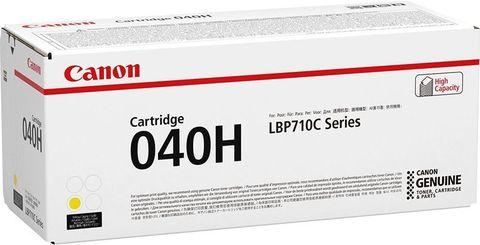 Тонер-картридж Canon Cartridge 040H желтый (10000 стр) 0455C001