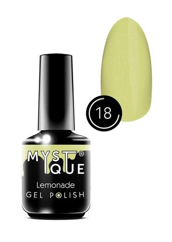 Mystique Гель-лак #18 «Lemonade» 15 мл