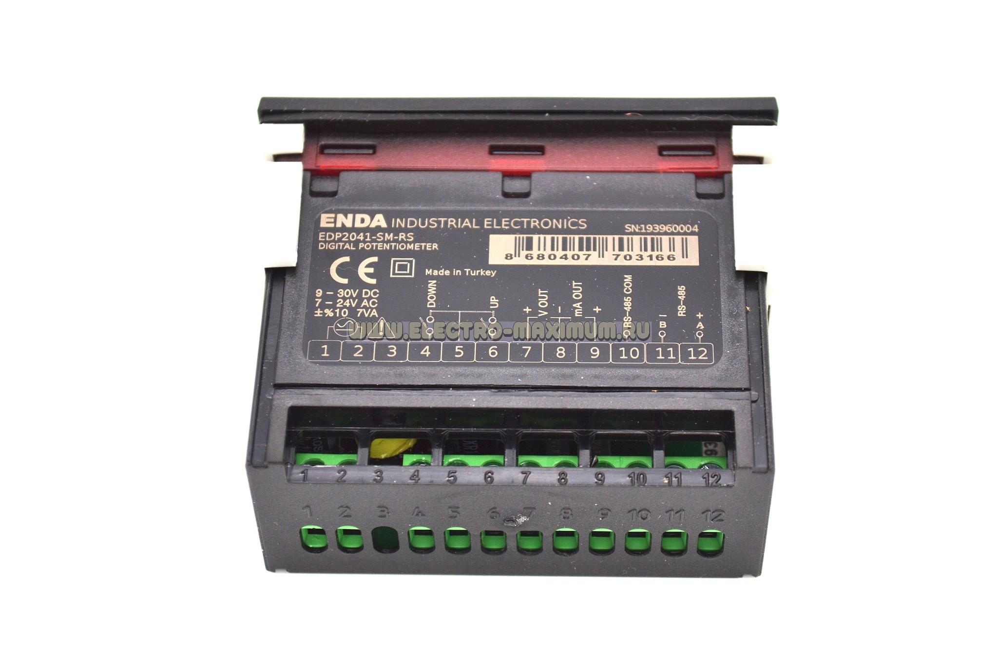 ENDA EDP 2041-230VAC   - напряжение питания 230V AC.