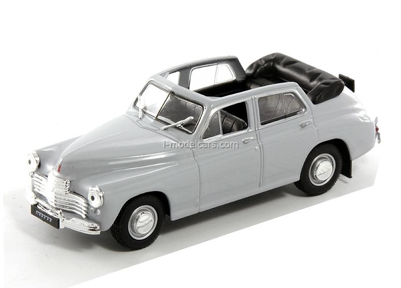 GAZ-M20B Pobeda gray 1:43 DeAgostini Auto Legends USSR #23