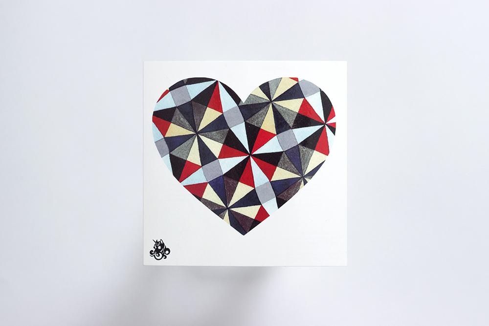 Переводная татуировка Happy Heart