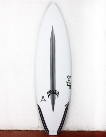 "Серфборд LOST 6'3"" UBER DRIVER CARBONWRAP SQ FCS2 5 FIN"