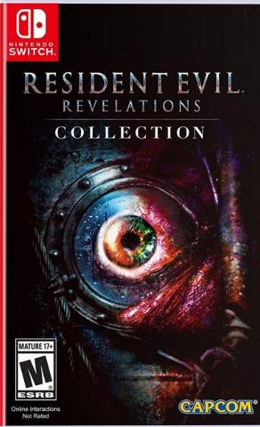 NS: Resident Evil: Revelations Collection (USA регион, русская версия)