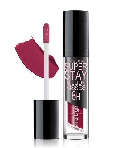 Супер стойкий блеск для губ Smart girl Million kisses тон 210