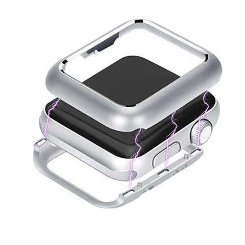 Чехол Apple watch 40mm Magnetic case /silver/