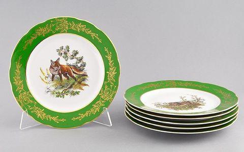 Набор тарелок мелких 6 штук 25см Мэри-Энн Leander