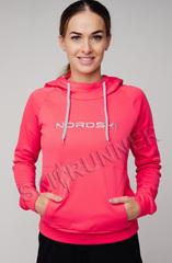 Толстовка с капюшоном Nordski Kangaroo Red женская