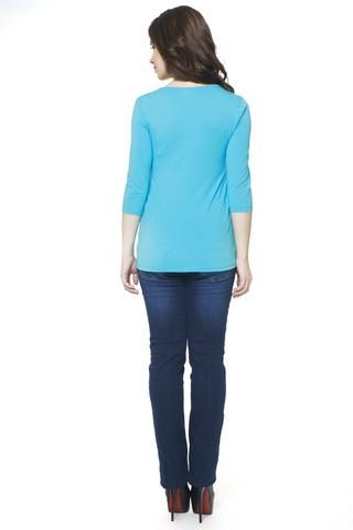 Блузка 07371 голубой