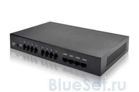 Dinstar DAG1000-4FXO/4FXS (VoIP шлюз)