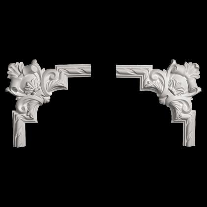 Угловой элемент Европласт из полиуретана 1.52.288, интернет магазин Волео