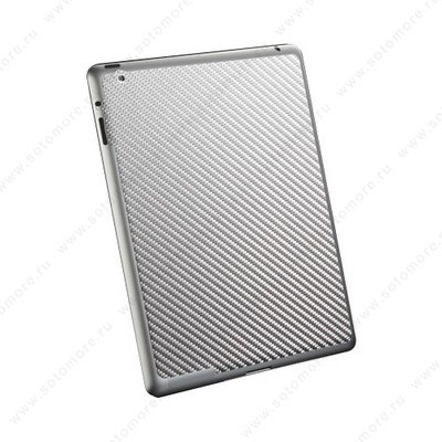 Наклейка SGP для iPad 4/ 3/ 2 - SGP Skin Guard Series Gray Carbon SGP09042