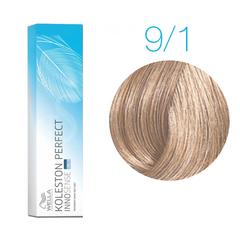 Wella Professionals Koleston Perfect Innosense 9/1 (Очень светлый блонд пепельный) - Стойкая крем-краска для волос