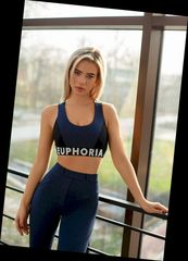 Топ Euphoria Say yes blue melange