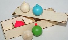1266  Набор новогодних игрушек