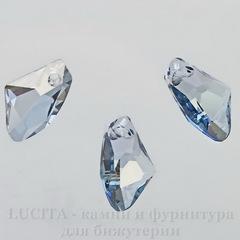 6656 Подвеска Сваровски Galactic Vertical Crystal Blue Shade (19 мм)