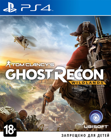 Sony PS4 Tom Clancy's Ghost Recon: Wildlands (русская версия)