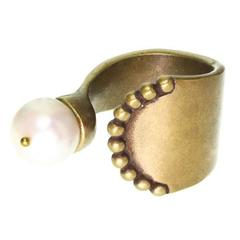 Кольцо Nature Bijoux NAIADES С жемчужиной