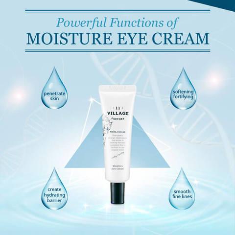 Увлажняющий крем для кожи вокруг глаз с эко-церамидами, 30 мл / Village 11 Factory Moisture Eye Cream