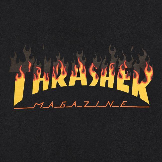 Футболка THRASHER BBQ (Black)