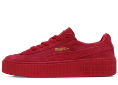 Кеды Женские Puma X Rihanna Creeper Red Edition