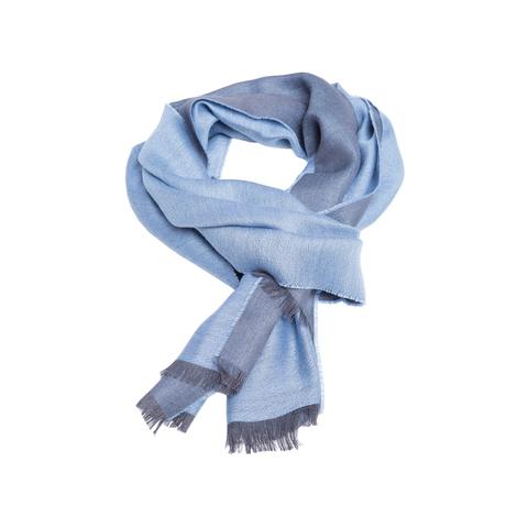 Шарф шерстяной 30х200 Alpaka Alp Silk Blu