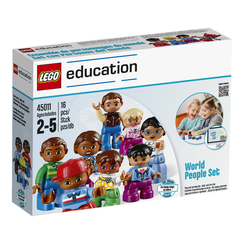 Lego Education Duplo: Люди мира 45011 — World People Set — Лего Образование Дупло