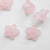 Бусина акриловая Цветочек бледно-розовый 10х4 мм ,10 штук ()