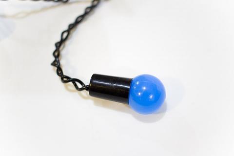 LED гирлянда бахрома шарики