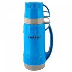 Термос 1,8л Webber 31002/4S синий