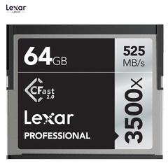 Карта памяти Lexar 64GB 3500X Professional CFast 2.0 525 - 445MB/s