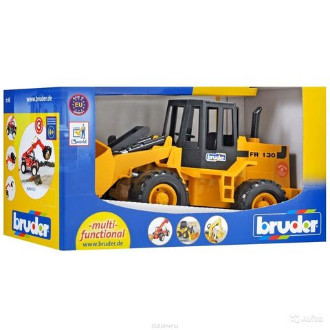 Bruder: Бульдозер колёсный FR 130, 02-425