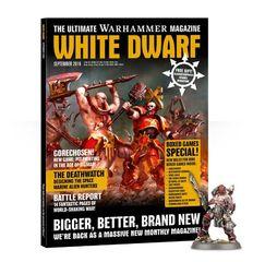 Whte Dwarf . Обложка