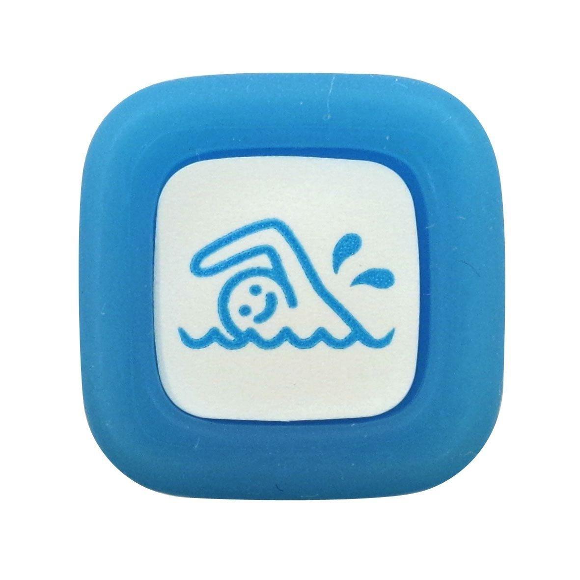 Pilot FriXion Stamp (цвет: голубой, клише: スイミング — suimingu — плаванье)